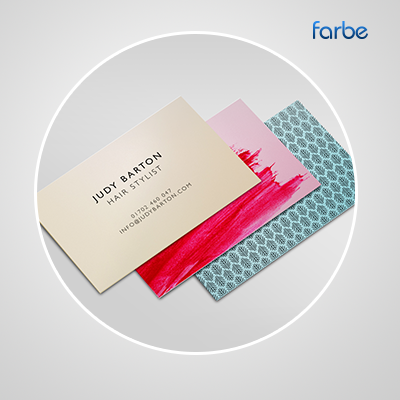 Metal business cards farbe middle east leading printing press in metal business cards reheart Gallery