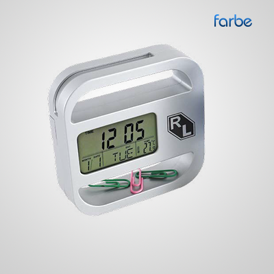 Solo Clock with Card Holder
