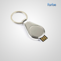 Teardrop Metal USB