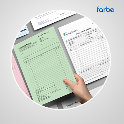 Invoice Book Printing