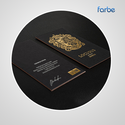 Premium business cards farbe middle east leading printing press premium business cards reheart Images