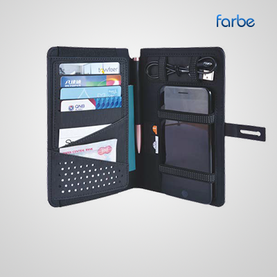 Travel Wallet with Powerbank