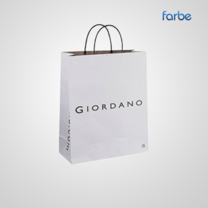 Twisted Paper Handle Shopping Bags