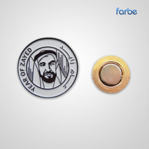 Year of Zayed Metal Badge