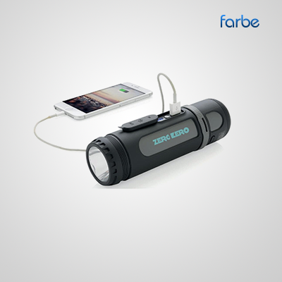Durotos Powerbank with Torch