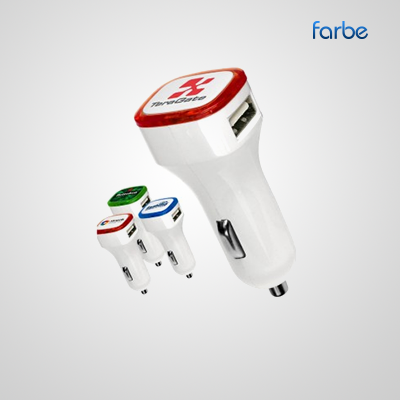 Color Trim Car Charger