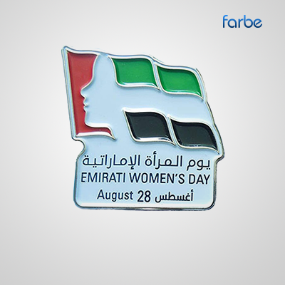 Emirati Womens Day Badge