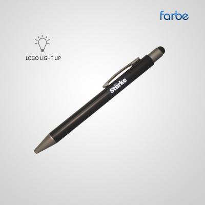 Aero Light Up Logo Pen