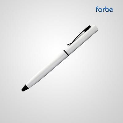Classic White Metal Pen